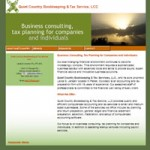 Quiet Country Bookkeeping, LLC design by Neal Resources