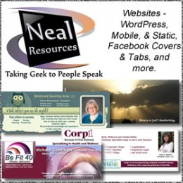 Neal Resources How long ago did you update your website?