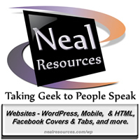 Neal Resources logo for facebook
